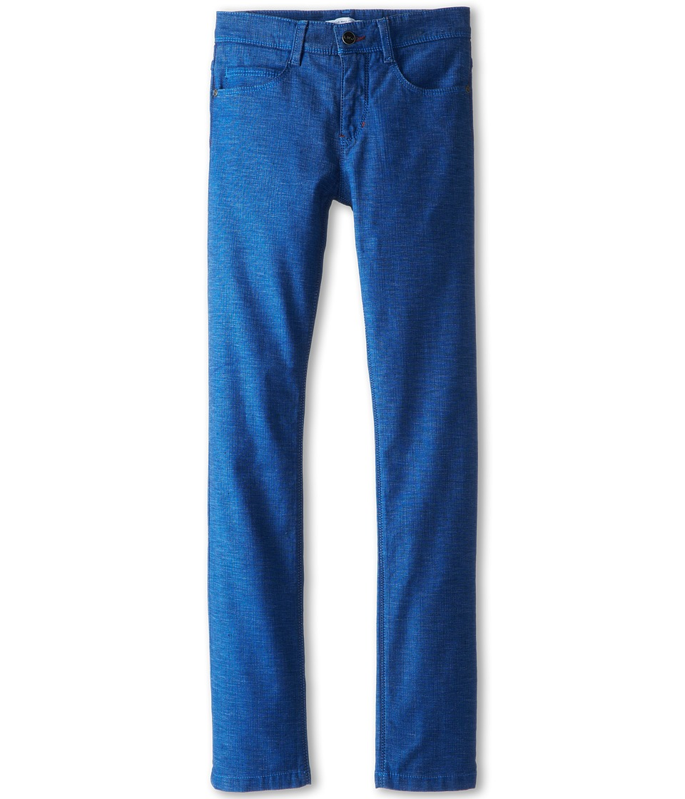 Little Marc Jacobs - Slim Fit Denim Pant (Big Kids) (Denim Blue) Boy's Casual Pants