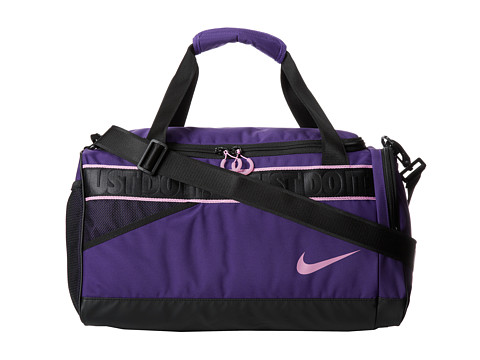 Nike - Varsity Duffel (Court Purple/Light Magnet Grey/(Light Magnet Grey)) Duffel Bags