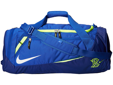 Nike - MVP Select Bat Duffel (Game Royal/Deep Royal Blue/White) Duffel Bags