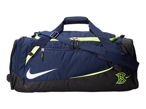 Nike - MVP Select Bat Duffel (Midnight Navy/Dark Obsidian/White) Duffel Bags