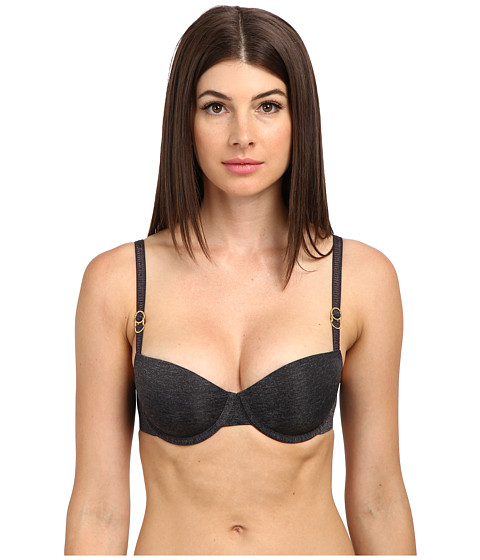 Stella McCartney - Stella Smooth Contour Balconnet Bra S23-225 (Grey Melange/Nine Iron) Women