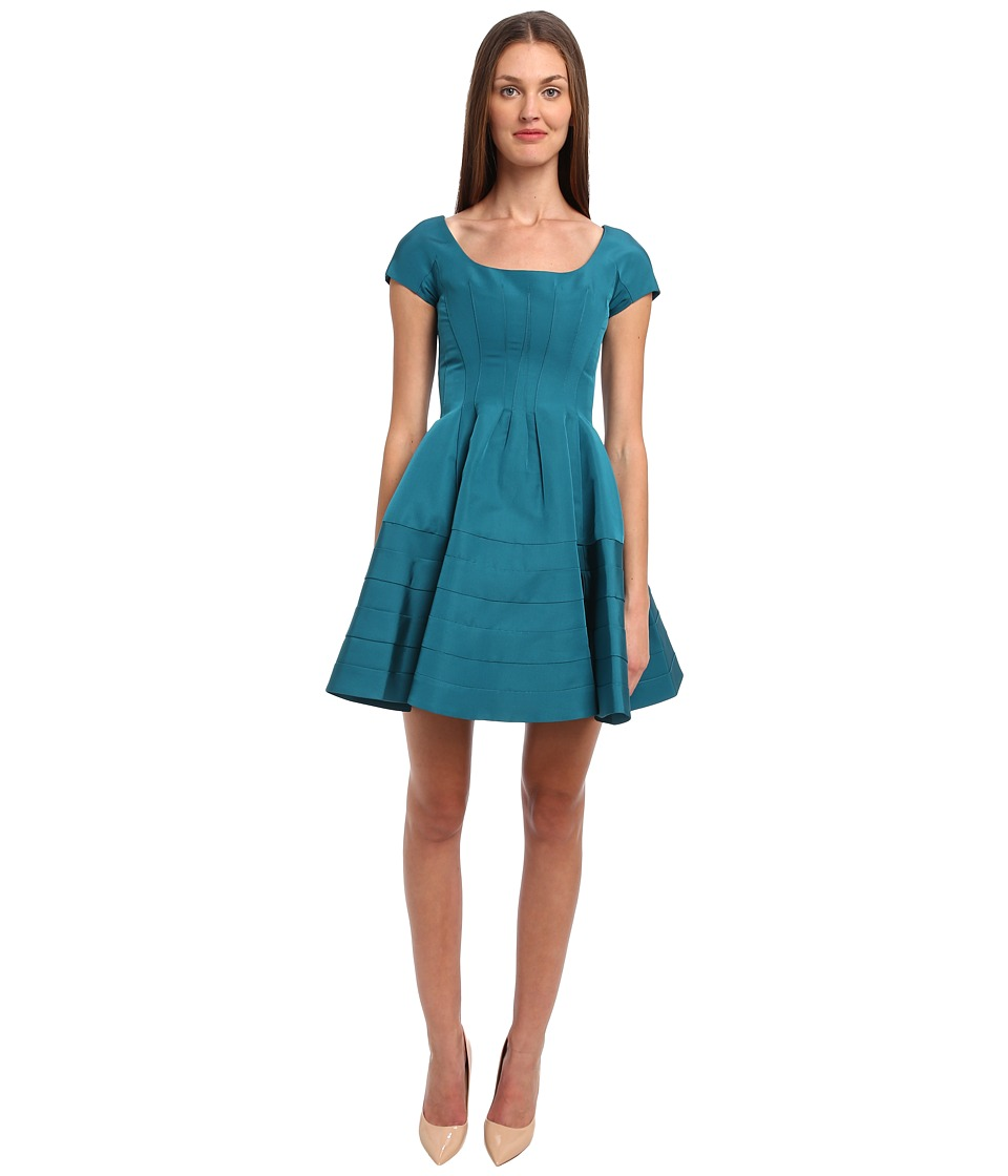 Zac Posen - CL01-5067-44 (Emerald) Women's Dress