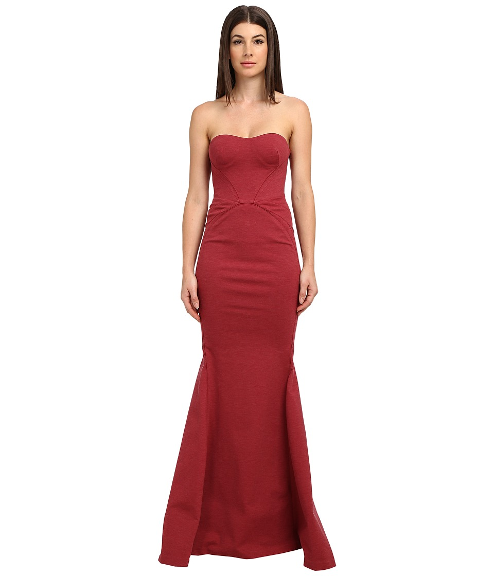 Zac Posen - 40-8015-44 (Ruby Melange) Women's Dress