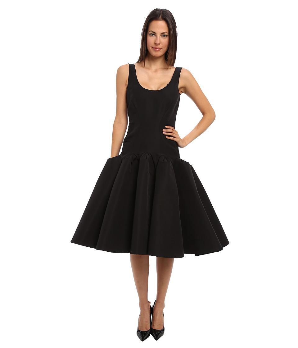 Zac Posen - CL01-5016-44 (Jet Black) Women's Dress