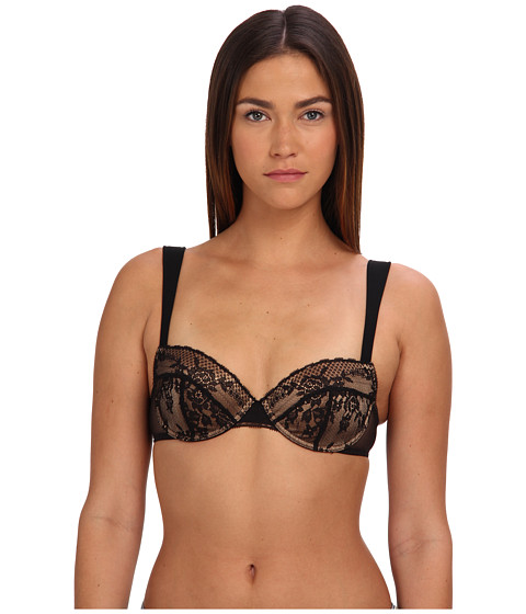 Stella McCartney - Georgia Glowing Contour Balconnet Bra S23-213 (Black) Women