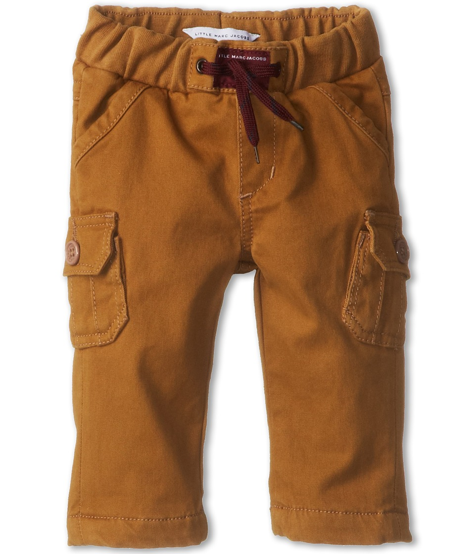 Little Marc Jacobs - Twill Cargo Pants (Infant) (Tabacco) Boy
