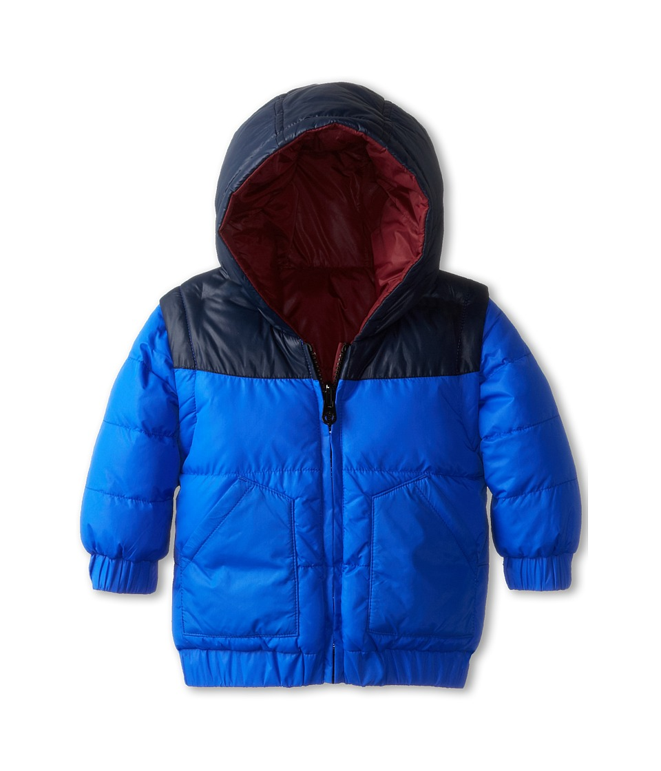 Little Marc Jacobs - Reversible Puffer Jacket (Infant) (Blue Bordea) Boy