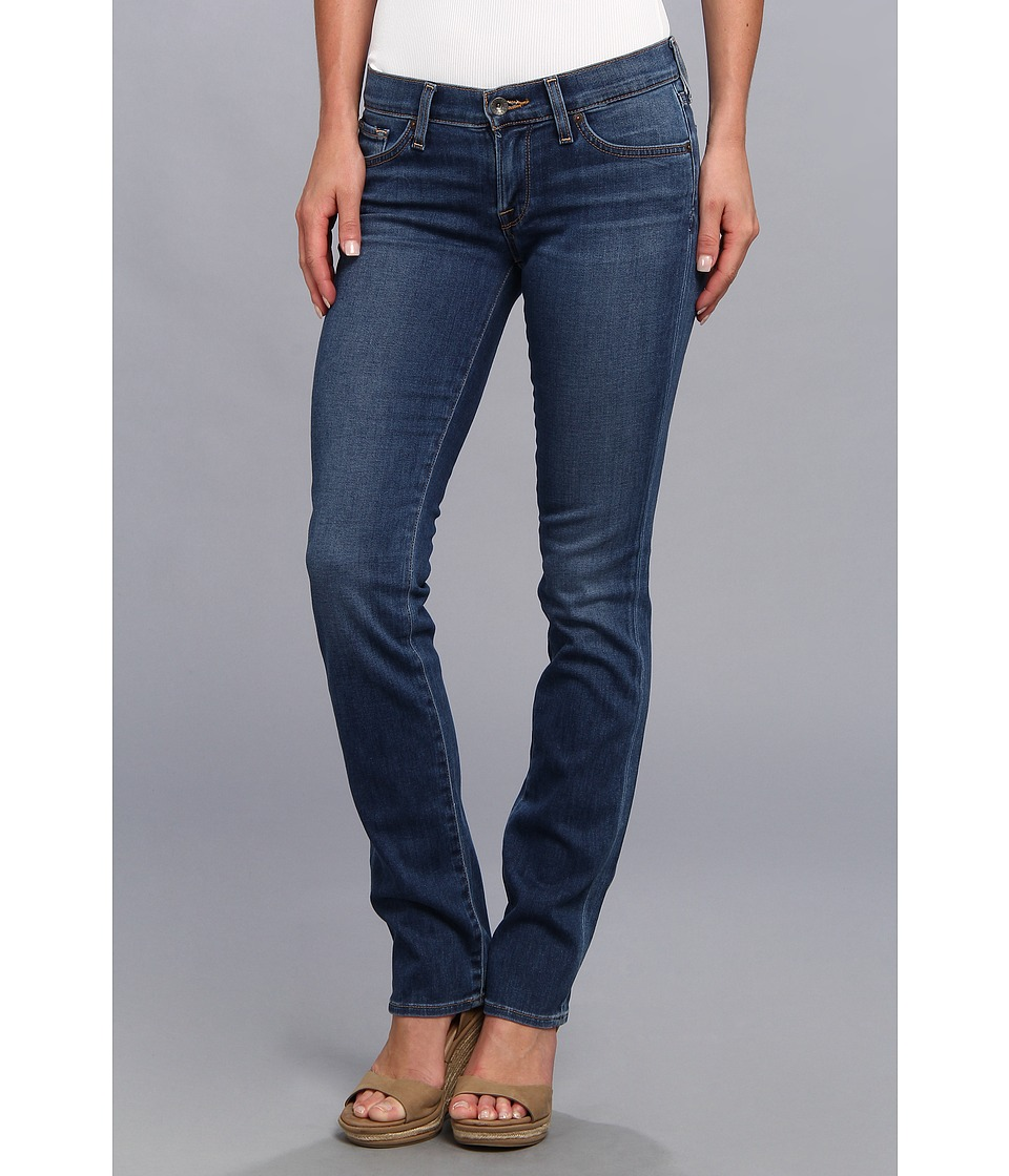 Lucky Brand Charlie Straight in Manhattan Womens Jeans (Blue)