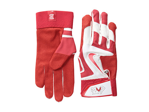 Nike - Mvp Elite (White/University Red/Pewter Grey/(University Red)) Athletic Sports Equipment