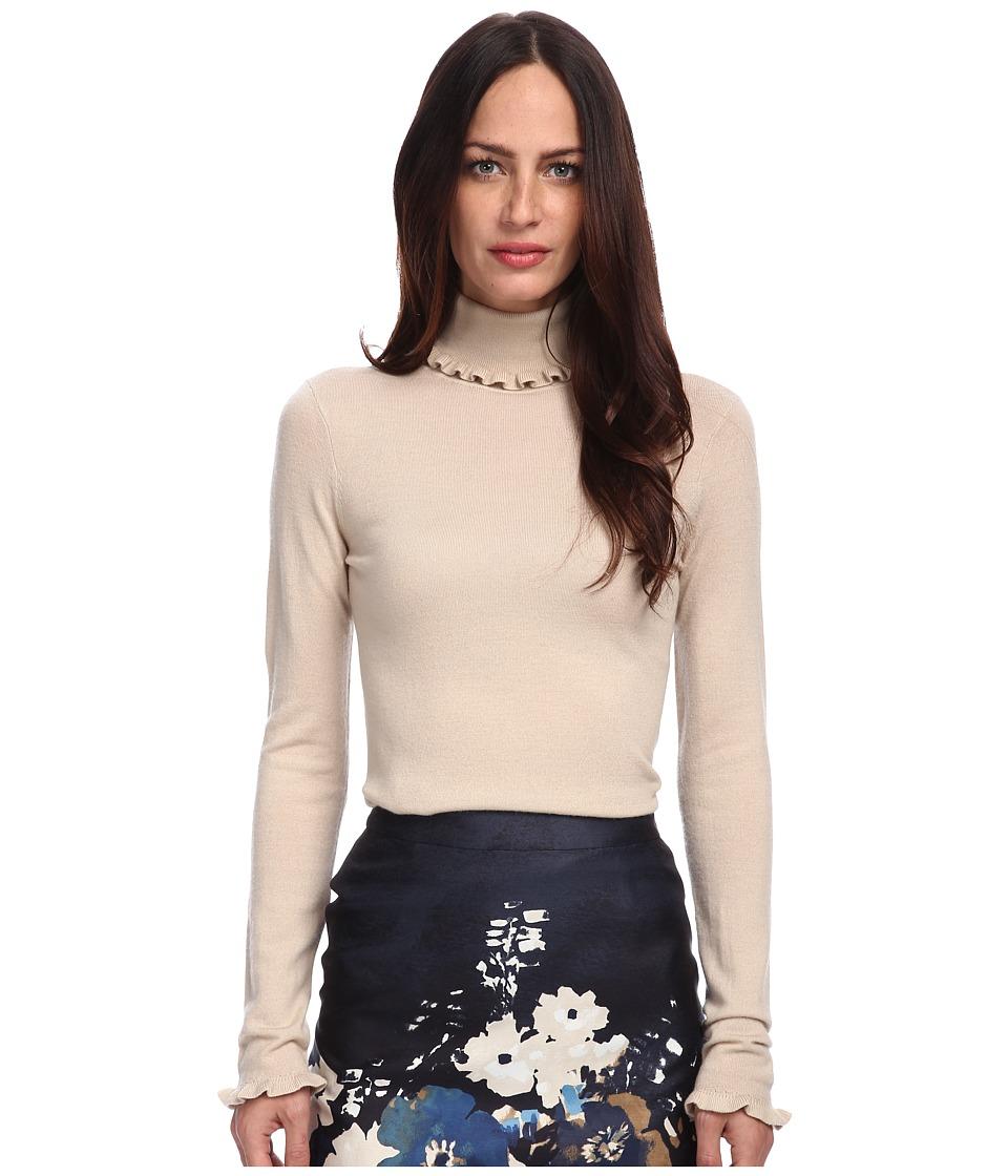Kate Spade New York - Bekki Turtleneck (Deco Beige) Women's Long Sleeve Pullover