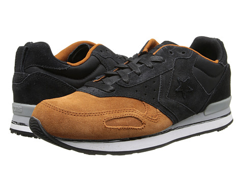 Converse - Malden Racer (Black/Auburn) Lace up casual Shoes