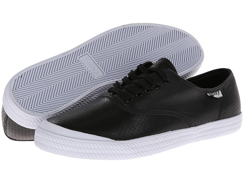 Volley Australia - OC (Perforated Leather Black) Men's Shoes