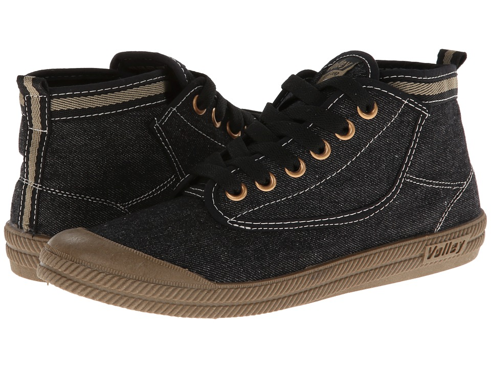 Volley Australia - Hi Leap (Black/Gum) Athletic Shoes