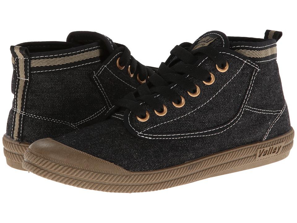 Volley Australia - Hi Leap (Black/Gum) Athletic Shoes