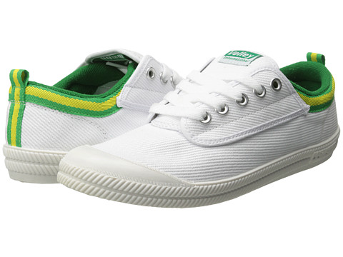 Volley Australia - International (White/Green/Gold) Athletic Shoes