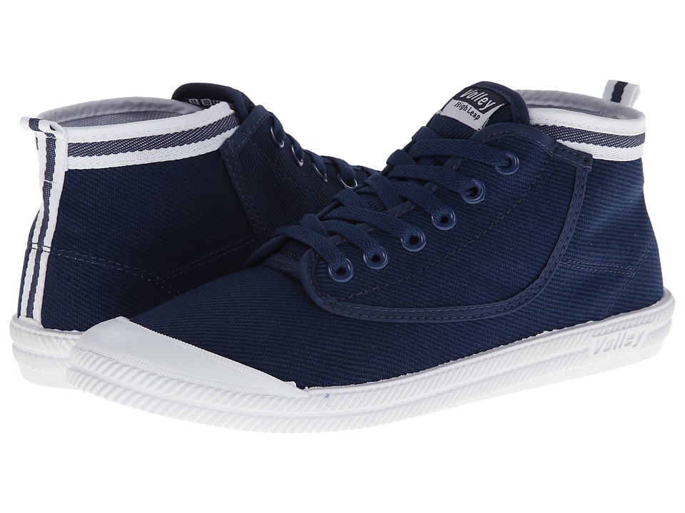 Volley Australia - Hi Leap (Navy/White) Athletic Shoes