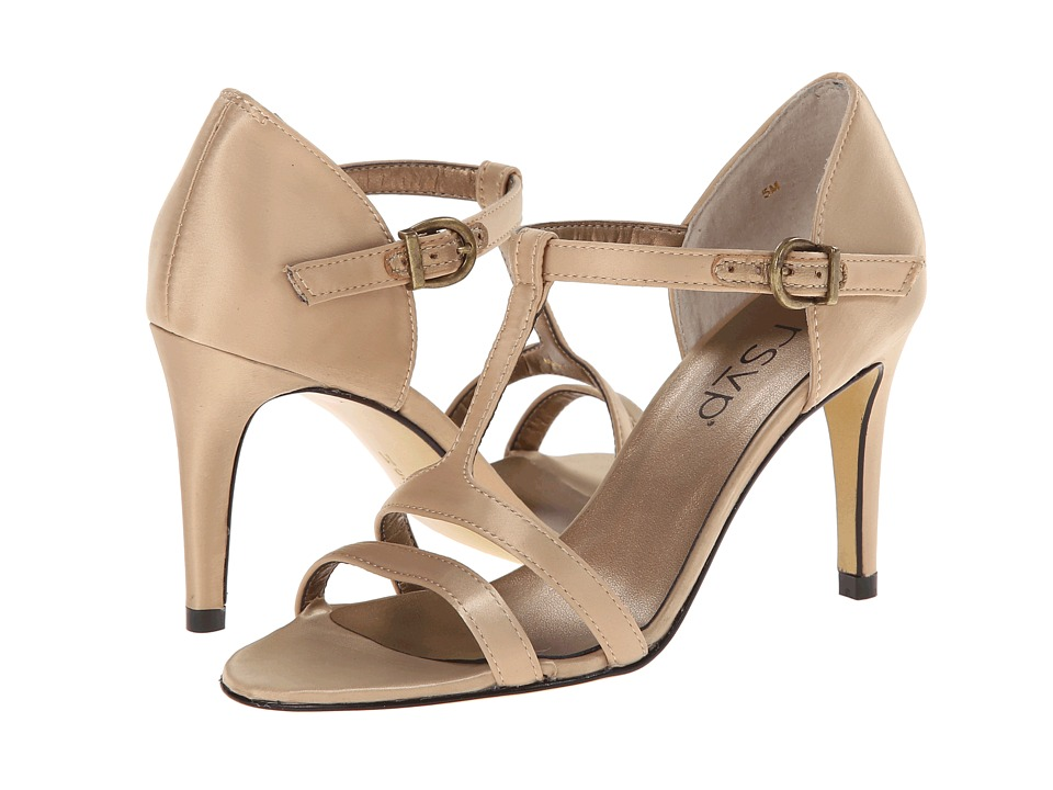 rsvp - Evan (Champagne Satin) High Heels
