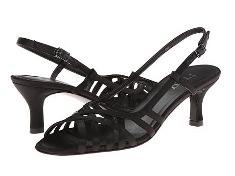 rsvp - Martha (Black Satin) High Heels