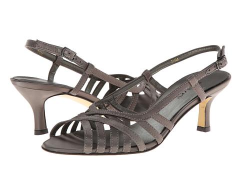 rsvp - Martha (Pewter Satin) High Heels