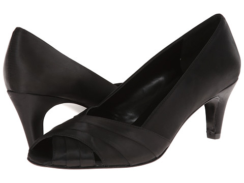 rsvp - Meara (Black Satin) High Heels sale off 2016