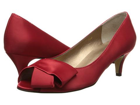 rsvp - Udela (Red Satin) High Heels