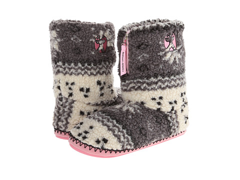Bedroom Athletics - Jessica (Grey Fairisle) Women's Slippers