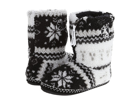 Bedroom Athletics - Jessica (Black Fairisle) Women's Slippers
