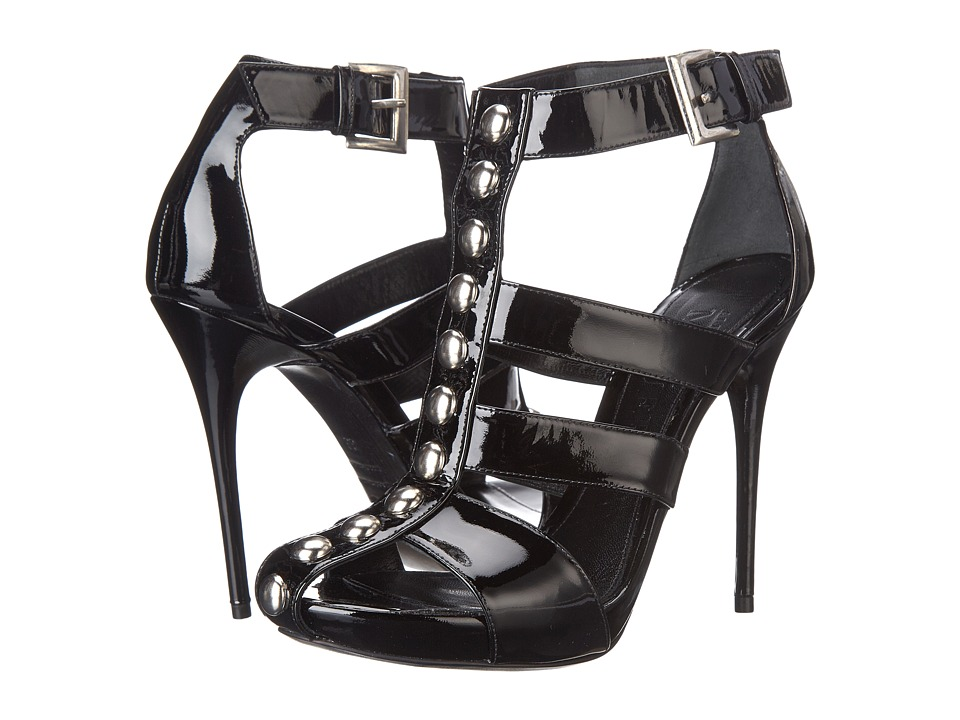Alexander McQueen - Multi Studded Sandal (Black) Women's Sandals