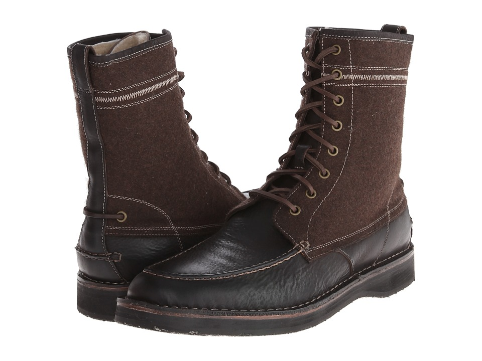 John Varvatos Hipster Winter Work Boot (Mocha) Men
