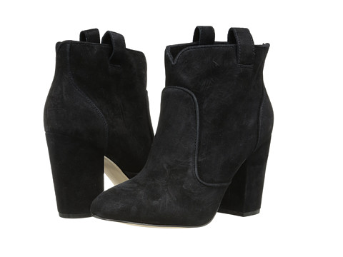 French Connection - Livvy (Black (Suede)) Women