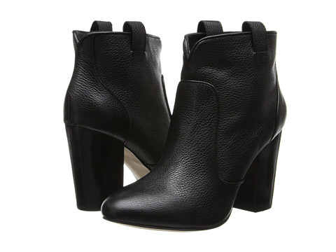 French Connection - Livvy (Black (Tumbled Leather)) Women