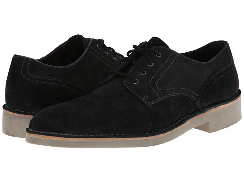 John Varvatos - Sid Eva Derby (Charcoal Heather) Men