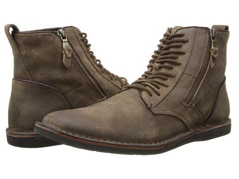 John Varvatos - Barrett Side Zip Boot (Brown) Men