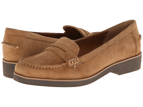 LAUREN by Ralph Lauren - Lisette (Camel Kid Suede) Women's Slip on Shoes