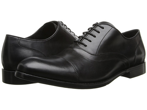 John Varvatos - Sid Heritage Oxford (Black) Men's Shoes