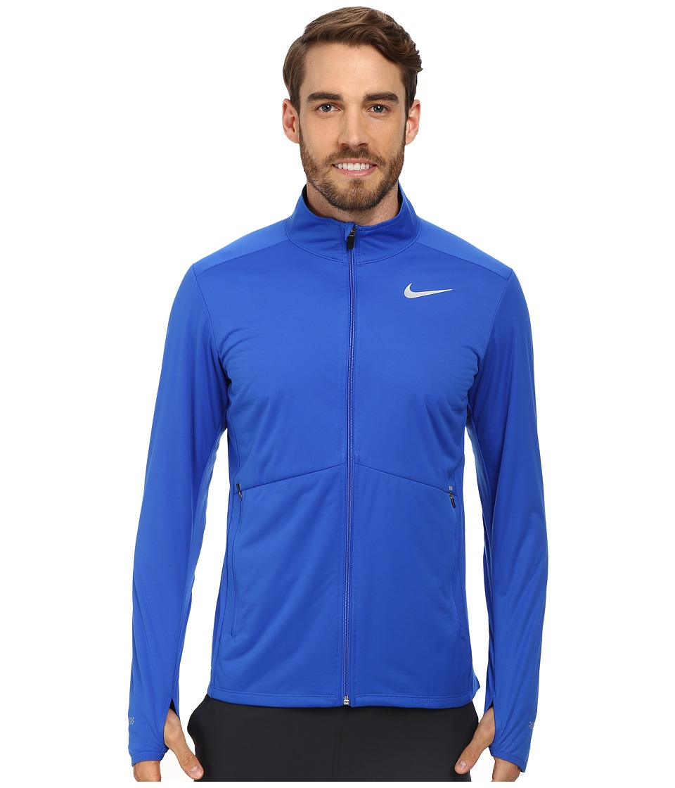 Nike - Element Shield Full Zip (Hyper Cobalt/Obsidian/Reflective Silver) Men's Sweatshirt