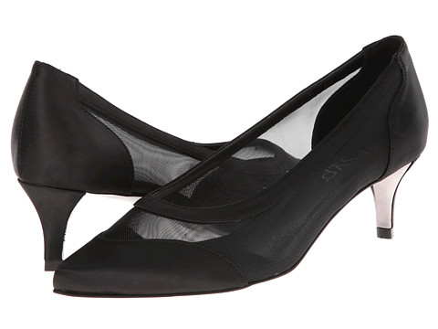 rsvp - Teena (Black/Black Mesh) High Heels