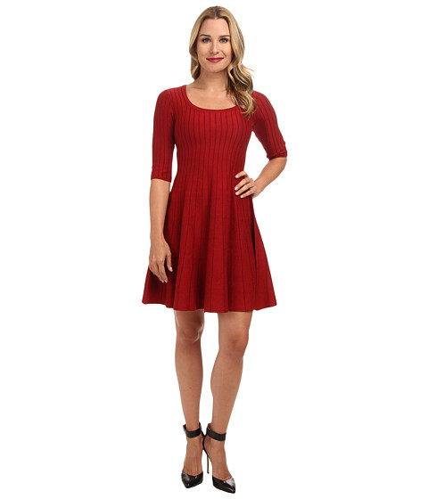 NIC+ZOE - Twirl Dress (Rio Red) Women