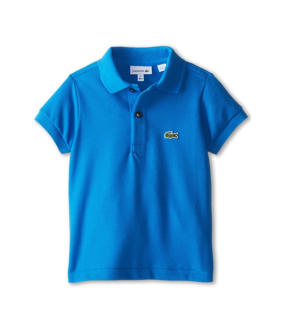 Lacoste Kids - Short Sleeve Classic Pique Polo Shirt (Toddler/Little Kids/Big Kids) (West Indies) Boy's Short Sleeve Pullover