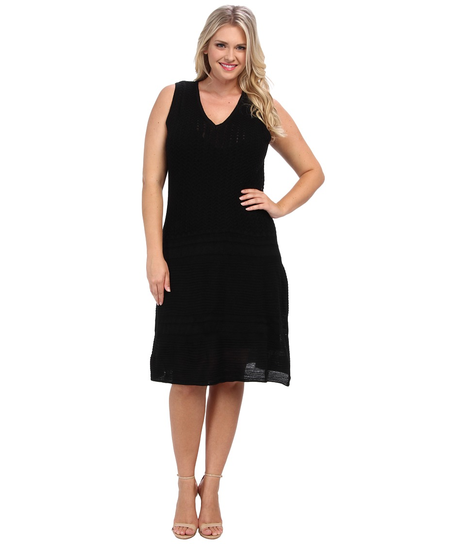 BB Dakota - Plus Size Yuma Dress (Black) Women's Dress