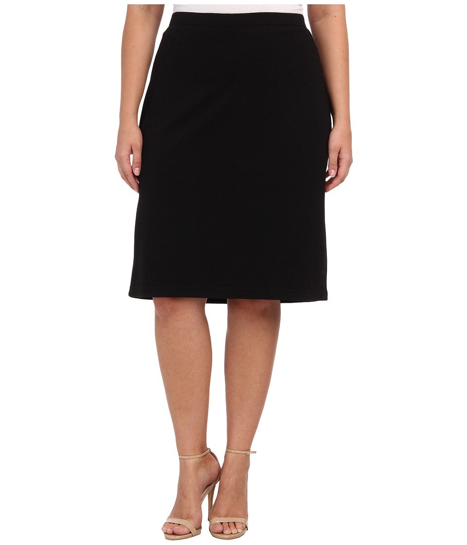 BB Dakota - Plus Size Burgess Skirt (Black) Women
