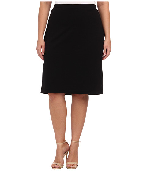 BB Dakota - Plus Size Burgess Skirt (Black) Women's Skirt