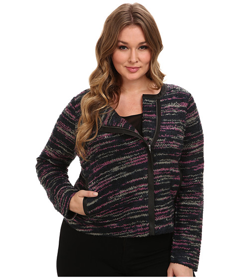 BB Dakota - Plus Size Ascot Jacket (Peacoat) Women's Jacket