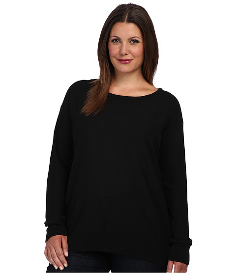 BB Dakota - Plus Size Mallen Sweater (Black) Women's Sweater