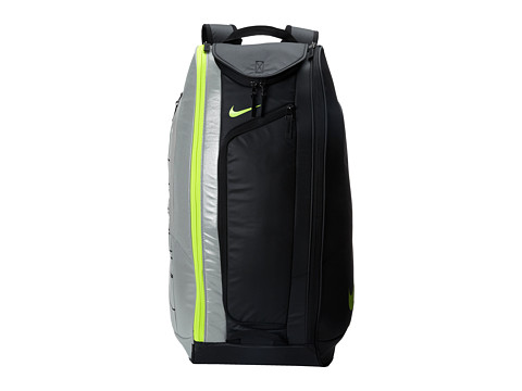 Nike - Court Tech 1 (Black/Metallic Silver/Volt) Backpack Bags