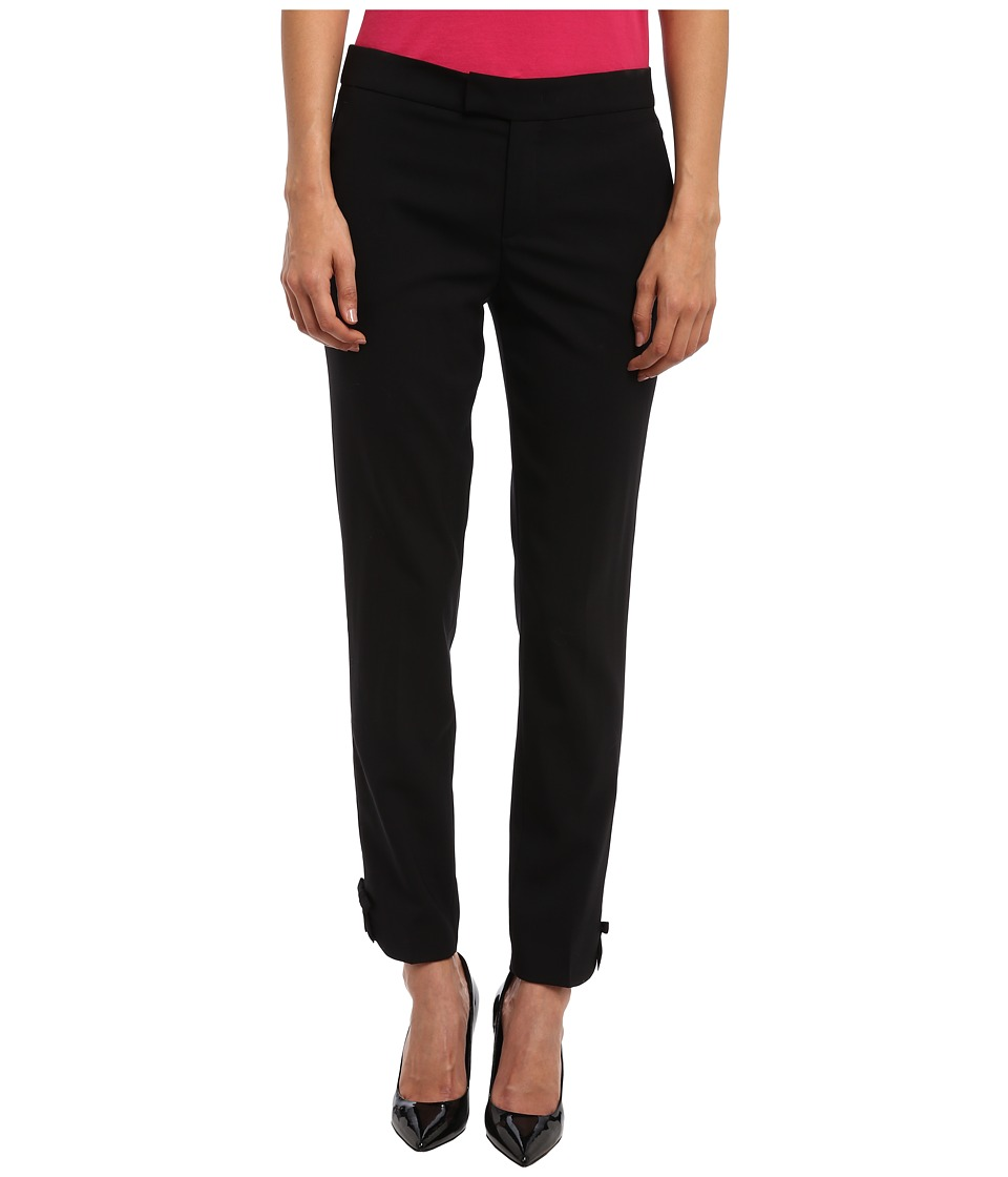 RED VALENTINO - Pant HR0653C5 (Black) Women's Casual Pants