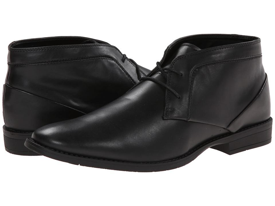Calvin Klein - Wilson 2 (Black Leather) Men's Lace-up Boots