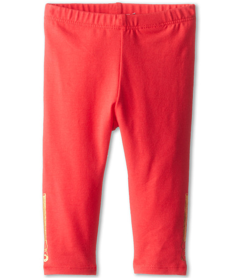 Little Marc Jacobs - Legging w/ Zipper Print (Infant) (Fraise) Girl's Casual Pants