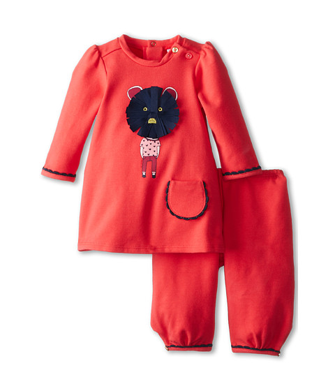 Little Marc Jacobs - 2 PC Fleece Jogging Set w/ Character Print (Infant) (Fraise) Boy's Active Sets