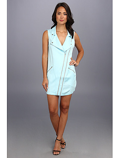 SALE! $57.99 - Save $107 on StyleStalker Starship Biker Dress (Aqua) Apparel - 64.85% OFF $165.00